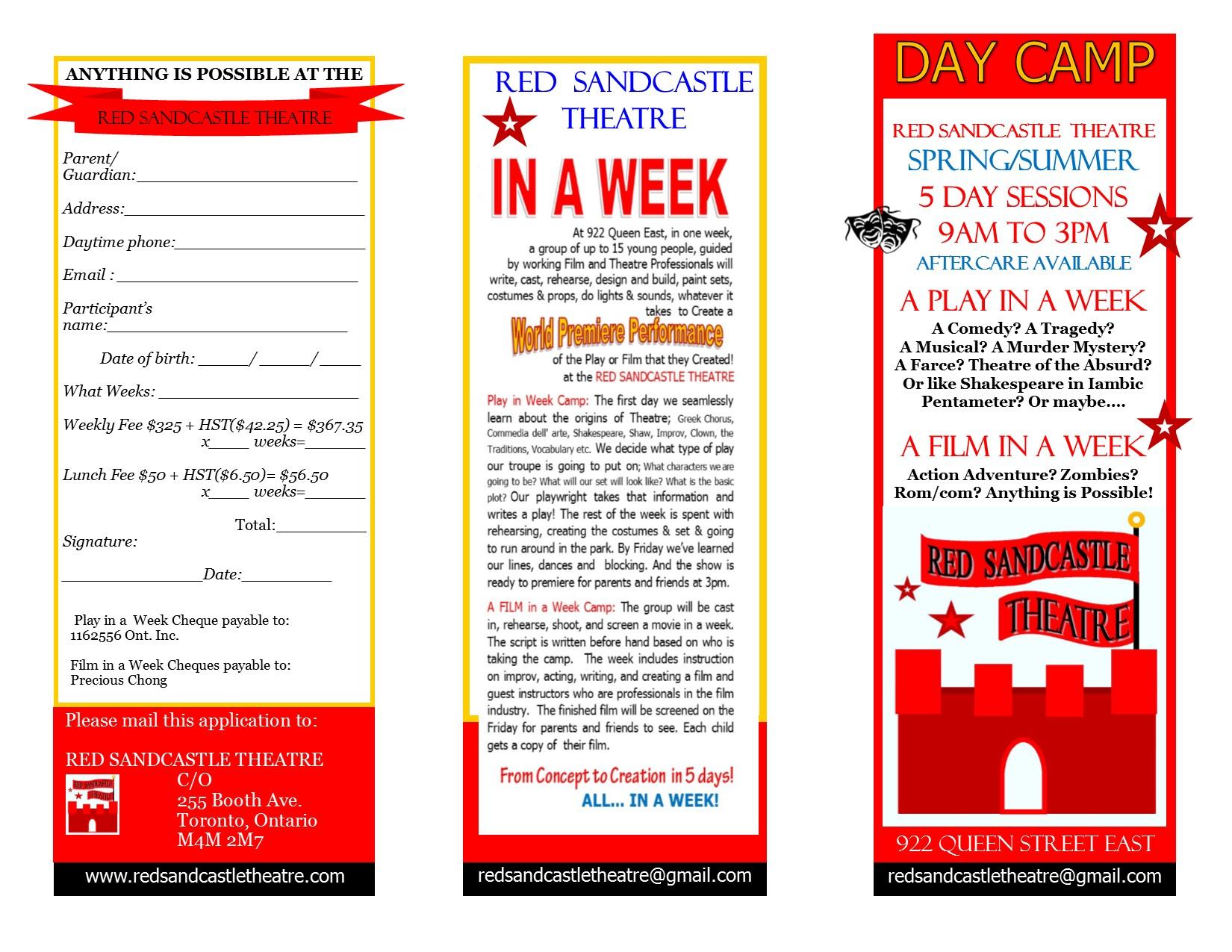 Flyer for Both Program Camps 2016