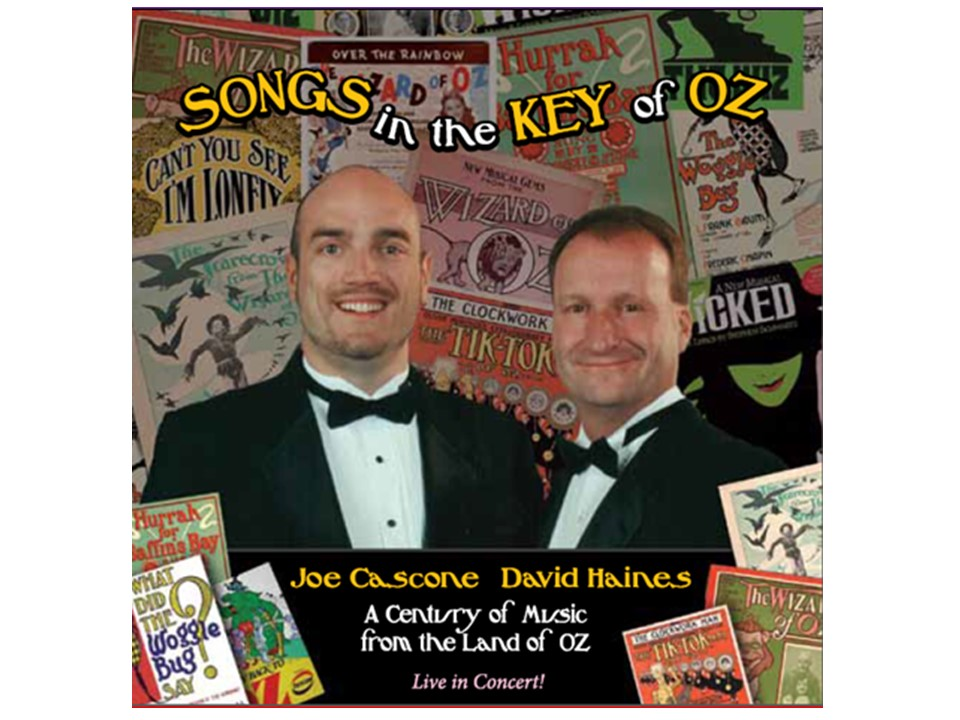 Songs in the the Key - poster from CD cover