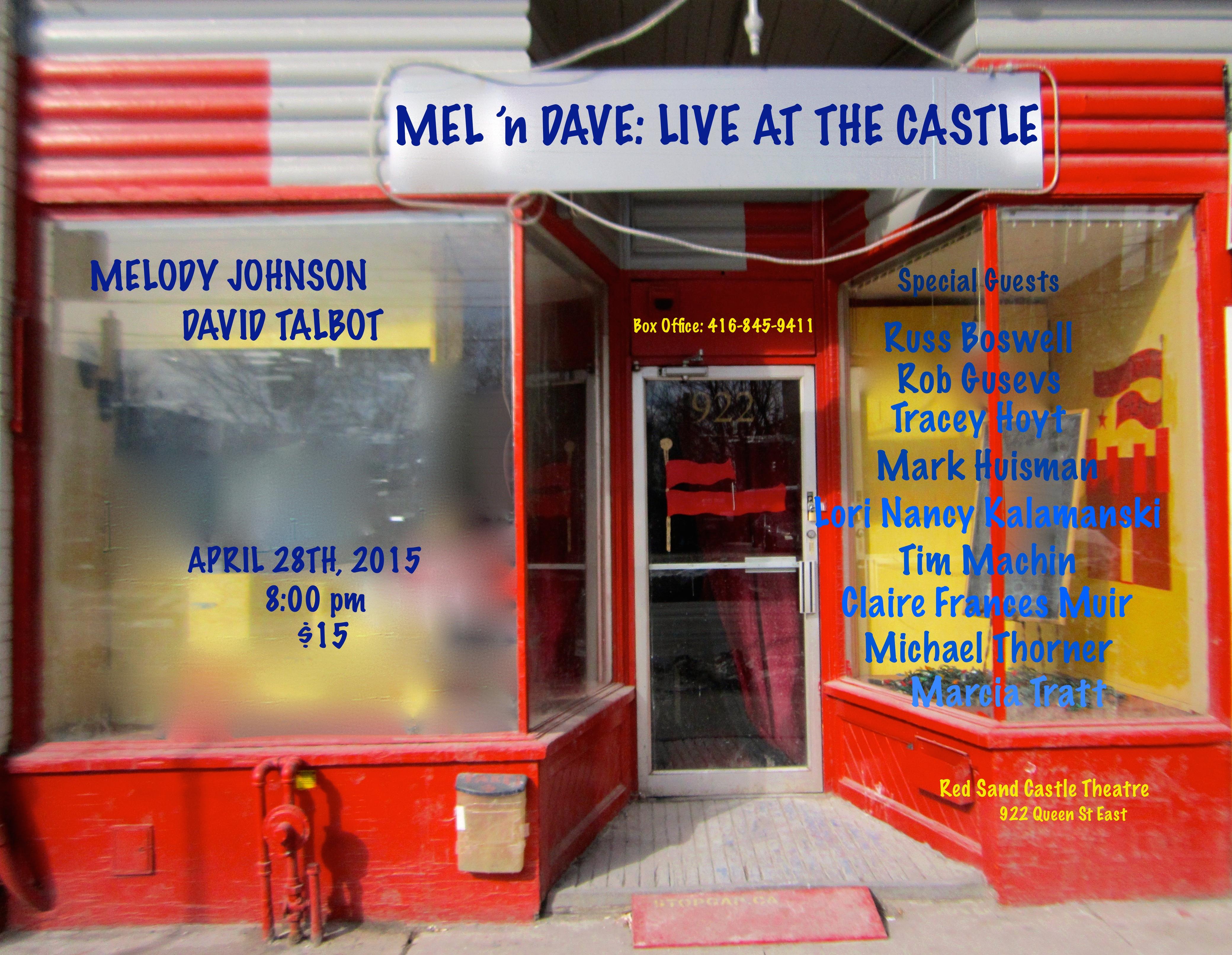 Mel 'n Dave April 28th